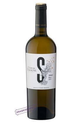 Шато Тамань Селект белое сухое вино, 0,75 л