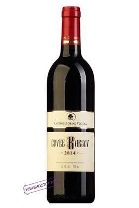 Кюве Карсов Шато Ле Гран Восток красное сухое вино 2014 год, 0,75 л