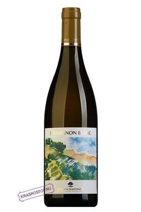Совиньон блан Шато Ле Гран Восток белое сухое вино, 0,75 л
