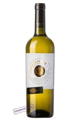 Шардоне Премиум Резерв Винодельня Юбилейная белое сухое вино, 0,75 л