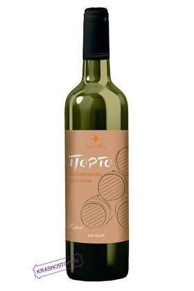 Порто Солнечная долина белое креплёное вино, 0,75 л