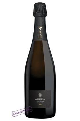 Blanc De Noir Усадьба Дивноморское экстра брют белое игристое вино, 0,75 л
