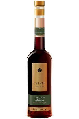 Velvet Season саперави Фанагория красное сладкое вино, 0,5 л