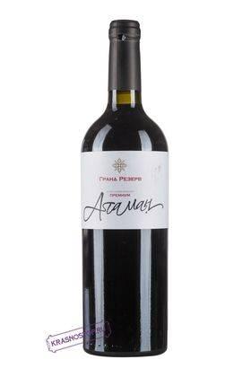 Атаман саперави премиум Вилла Звезда красное сухое вино 2013 год, 0,75 л