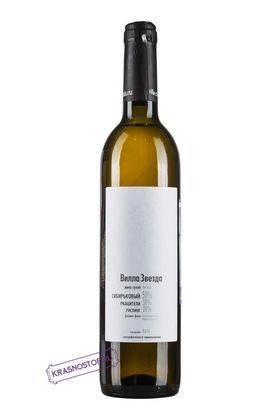 Купаж №8 Вилла Звезда белое сухое вино, 0,75 л