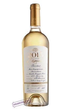 Рислинг Elegance Винодельня Юбилейная белое полусухое вино, 0,75 л