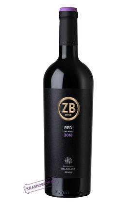 ZB wine Золотая Балка красное сухое вино, 0,75 л