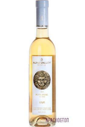 Пти Арвин Айсвайн резерв Alma Valley белое сладкое вино, 0,375 л
