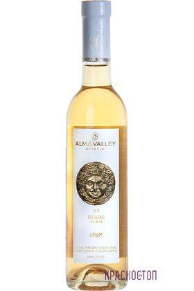 Рислинг резерв Айсвайн Alma Valley белое сладкое вино, 0,375 л