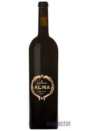 Альма резерв красное сухое вино 2015 год, 0,75 л