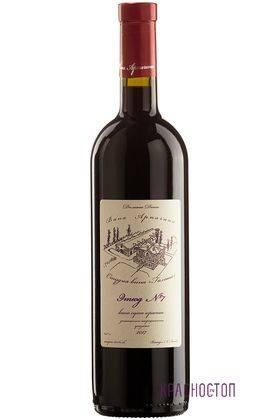 Этюд № 7 Вина Арпачина красное сухое вино, 0,75 л
