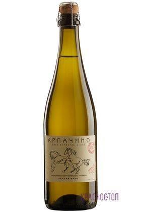 Сибирьковый Вина Арпачина экстра брют белое игристое вино, 0,75 л