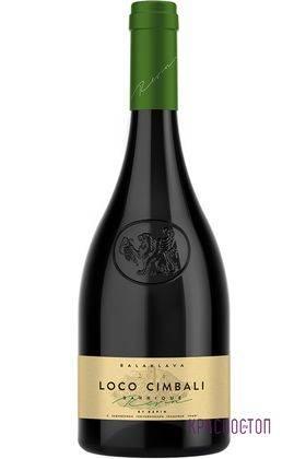 Локо Чимбали Балаклава белое сухое вино, 0,75 л