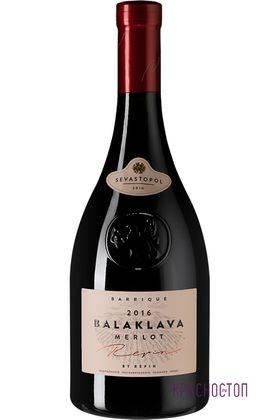 Мерло Резерв Балаклава красное сухое вино, 0,75 л