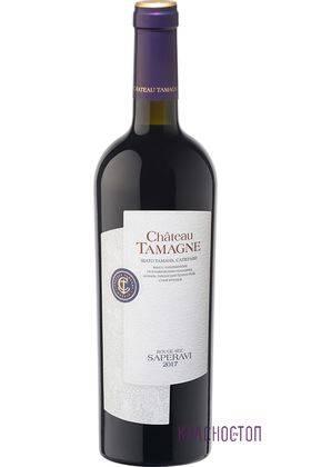 Саперави Шато Тамань красное сухое вино, 0,75 л