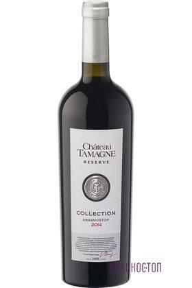 Красностоп Шато Тамань коллекционный красное сухое вино 2014 год 0,75 л