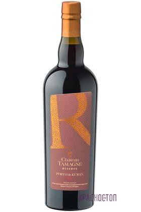 Портвейн кубанский Шато Тамань резерв красное креплёное вино, 0,75 л