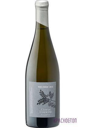 Рислинг резерв акация Шато Тамань белое сухое вино 2016 год, 0,75 л
