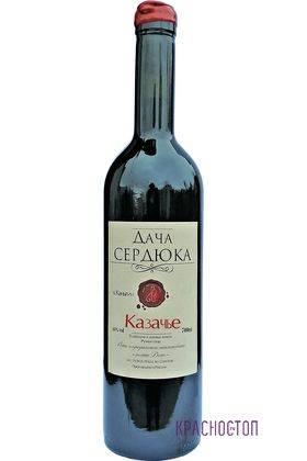 Казачье Дача Сердюка красное сухое вино, 0,75 л