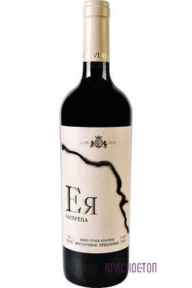 Ея растрёпа красное сухое вино 0,75 л