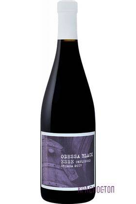 Одесский черный Esse Unplugged красное сухое вино, 0,75 л