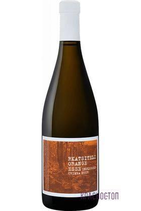 Ркацители оранж Esse Unplugged белое сухое вино, 0,75 л