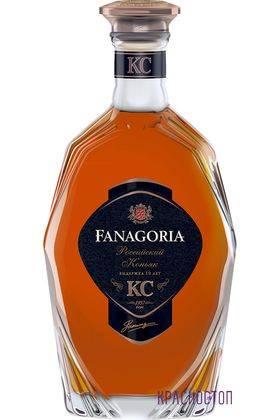 Фанагория КС 10 лет коньяк марочный 0,5 л, 40 %