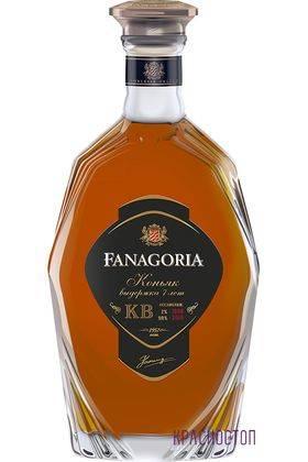 Фанагория КВ 7 лет коньяк марочный 0,5 л, 40 %