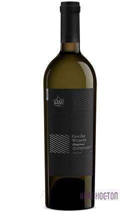 Шардоне Гунько Вайнери белое сухое вино 0,75 л