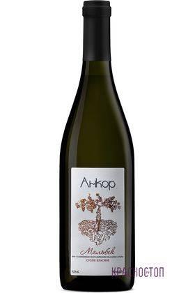 Мальбек Анкор красное сухое вино, 0,75 л