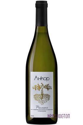 Рислинг Анкор белое сухое вино, 0,75 л