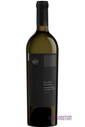 Совиньон Блан Гунько Вайнери белое сухое вино 0,75 л
