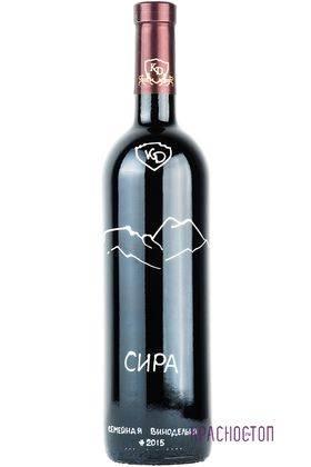 Сира Константин Дзитоев красное сухое вино 0,75 л