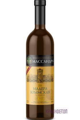 Мадера Крымская Массандра белое специальное вино, 0,75 л