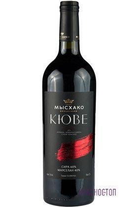 Сира марселан кюве Мысхако красное сухое вино, 0,75 л