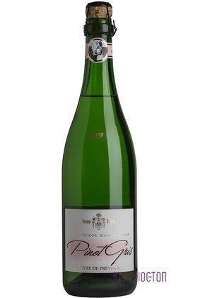 Пино Гри Миллезим Новый Свет брют розовое игристое вино, 0,75 л