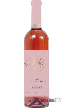 Розе Pithos розовое сухое вино, 0,75 л