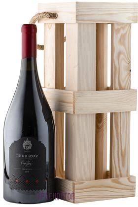 Пино нуар Сикоры красное сухое вино в бутылке магнум 1,5 л