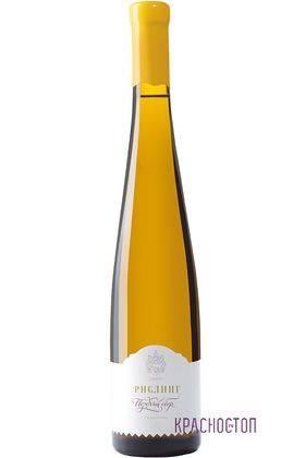 Рислинг поздний сборы Сикоры белое сладкое вино 0,5 л
