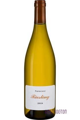 Рислинг Раевское белое сухое вино, 0,75 л
