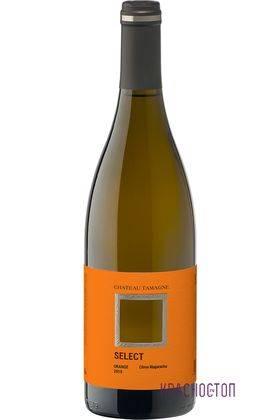 Оранж Селект Шато Тамань оранжевое полусухое вино 0,75 л
