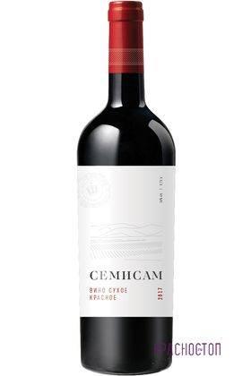 Семисам Шумринка красное сухое вино 0,75 л