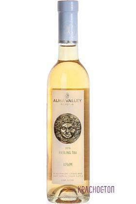 Рислинг ТБА Alma Valley белое сладкое вино, 0,375 л