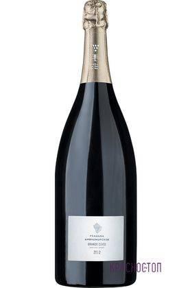 Гран Кюве Усадьба Дивноморское экстра брют белое игристое вино, 1,5 л
