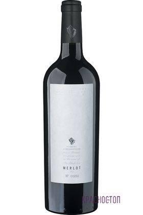 Мерло Усадьба Дивноморское красное сухое вино, 0,75 л