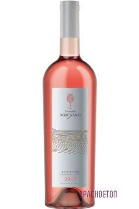 Розе бленд Усадьба Мысхако розовое сухое вино, 0,75 л