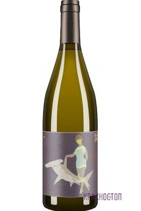 Совиньон блан Акула Uppa Winery белое сухое вино, 0,75 л