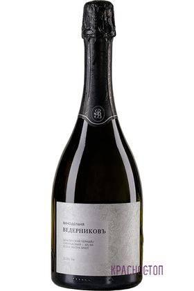 Цимлянский и Сибирьковый Ведерниковское экстра брют белое игристое вино  0,75 л