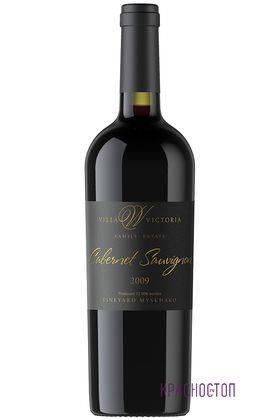 Каберне совиньон резерв Вилла Виктория красное сухое вино 2009 год, 0,75 л