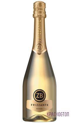 ZB Frizzante Золотоая балка белое сухое жемчужное вино, 0,75 л